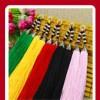 各种颜色的饰品吊穗